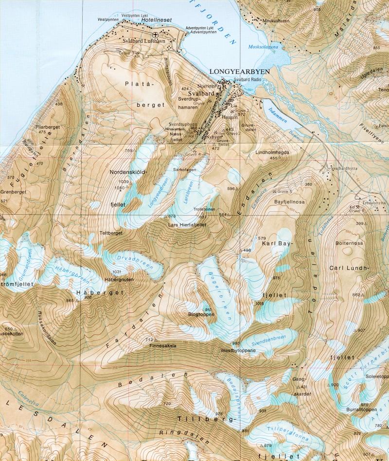 Svalbard 2000 Pyoraretki Jaamerelle Ja Retkeilya Huippuvuorilla